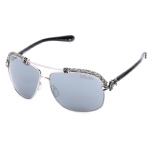 Affliction BAXTER-B Sunglasses - Silver