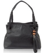 Big Buddha Dylan Satchel Bag - Black