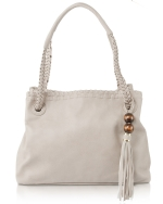 Big Buddha Dylan Satchel Bag - Grey