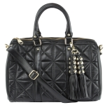 Steve Madden Caron Satchel Bag- Black