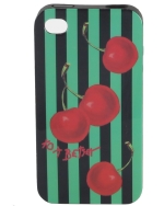 Betsey Johnson iPhone 4/4S Hard Case-Red