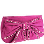 Betsey Johnson Bows And Whistles Clutch Bag - Pink