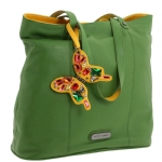Betsey Johnson Pop Butterfly Tote- Green