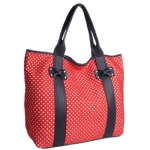 Betsey Johnson Scuba Gal Tote - Red