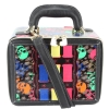 Betsey Johnson Signature Mini Suitcase-Black