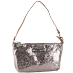 Betsey Johnson Snap Crackle Pop Wristlet  - Pewter