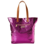 Betsey Johnson Snap Crackle Pop Tote- Fuschia