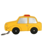 Betsey Johnson Taxi Cab Wristlet-Yellow