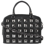 Betsey Johnson Studio 54 Satchel Bag-Black