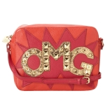Betsey Johnson TTYL Crossbody Bag-Berry