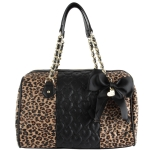 Betsey Johnson Be My Wonderful Satchel - Leopard