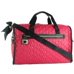 Betsey Johnson Be My Wonderful Weekender Bag -Fuchsia