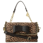 Betsey Johnson Tough Love Mini Satchel-Leopard