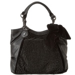 Betsey Johnson Crystal Palace Tote-Black