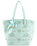 Betsey Johnson Racey Lacey Tote-Mint