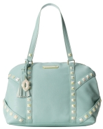 Betsey Johnson Studs & More Satchel Bag-Mint