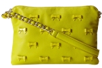 Betsey Johnson Little Bow Chic Crossbody Bag-Citron