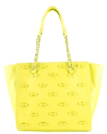 Betsey Johnson Little Bow Chic Tote Bag-Citron