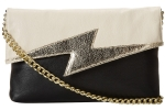 Betsey Johnson Bright Lights Clutch Bag - Black