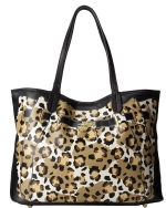 Betsey Johnson Fee Fi Faux Tote Shoulder Bag - Black