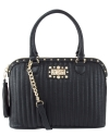 Betsey Johnson Pretty In Punk Dome Satchel - Black