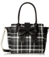 Betsey Johnson Sincerely Yours Tote Bag - Black Multi