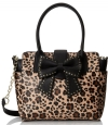Betsey Johnson Sincerely Yours Tote Bag - Leopard