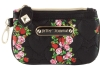 Betsey Johnson Be My Sweetheart Top Zip Small Wristlet - Floral