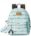 Betsey Johnson Studded Signature Backpack - Minty Blue