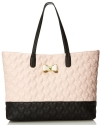Betsey Johnson Be My Bow Tote - Blush