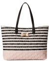Betsey Johnson Be My Bow Tote - Stripe