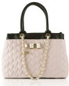 Betsey Johnson Be My Bow Shopper Tote - Blush