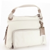BCBG MaxAzria LAS447 Large Shoulder Bag - Oyster