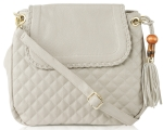 Big Buddha Carlton Crossbody Bag - Grey
