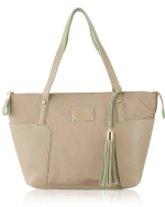 Big Buddha Tessa Nylon Shoppers Tote - Camel