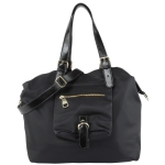Steve Madden Nylon Shoppers Tote - Black