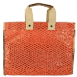 Steve Madden Bplaya Canvas Tote - Orange