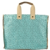 Steve Madden Bplaya Canvas Tote - Turquoise