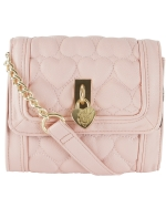 Betsey Johnson Be Mine Mini Crossbody -Blush