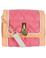 Betsey Johnson Be Mine Mini Crossbody -Pink