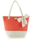 Betsey Johnson Be Mine Key Item Tote-Guava