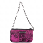 Betsey Johnson Bouquet Wristlet  - Pink