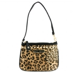 Betsey Johnson Cheetah Mix Up Wristlet  - Natural