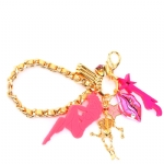 Betsey Johnson Multi Key Chain