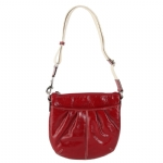 Coach 42834 Patent Pleated Swingpack - Red