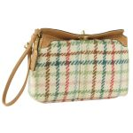 Coach 42992 Tattersall Turnlock Capacity Wristlet Wallet - Multi