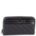 Christian Audigier Stella Zip Around Wallet - Black