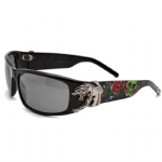 Christian Audigier CAS 411 Panther Sunglasses - Black
