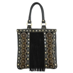 Christian Audigier Musha Handle Tote - Black