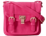 Steve Madden Blocks Crossbody Bag - Raspberry